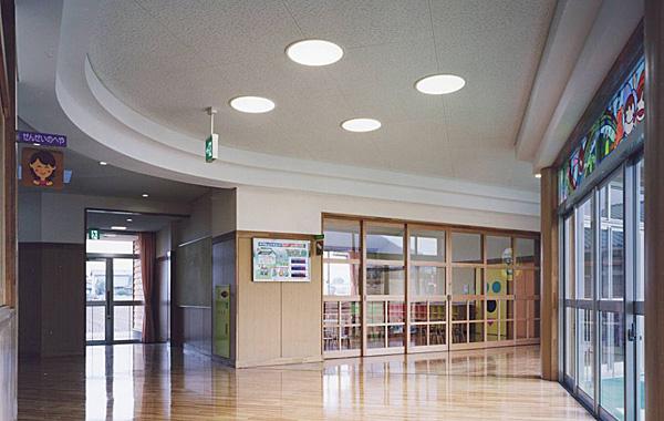 木造建築の施工事例:総杜市立清音幼稚園 2枚目
