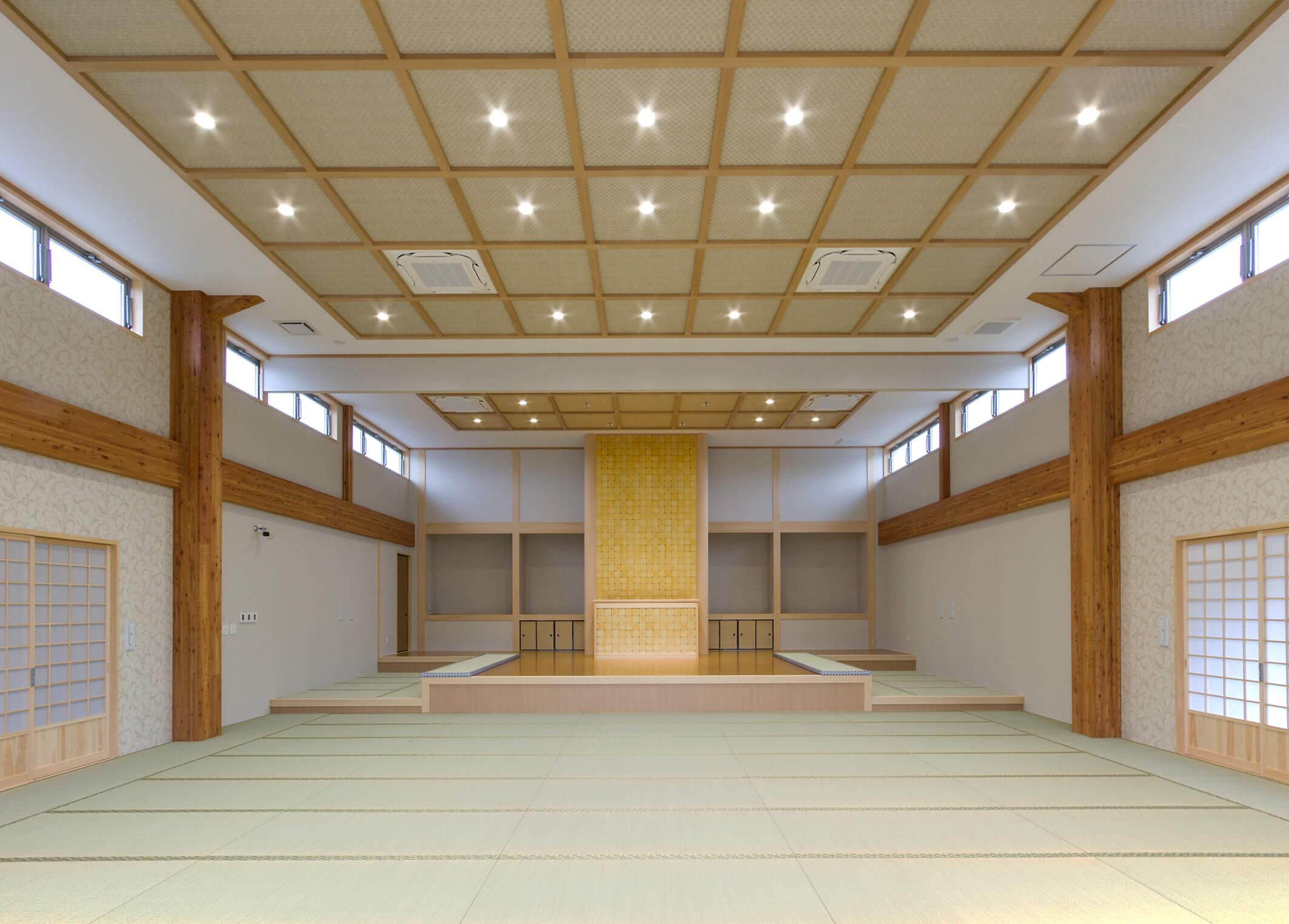 木造建築の施工事例:新顕覚寺 4枚目