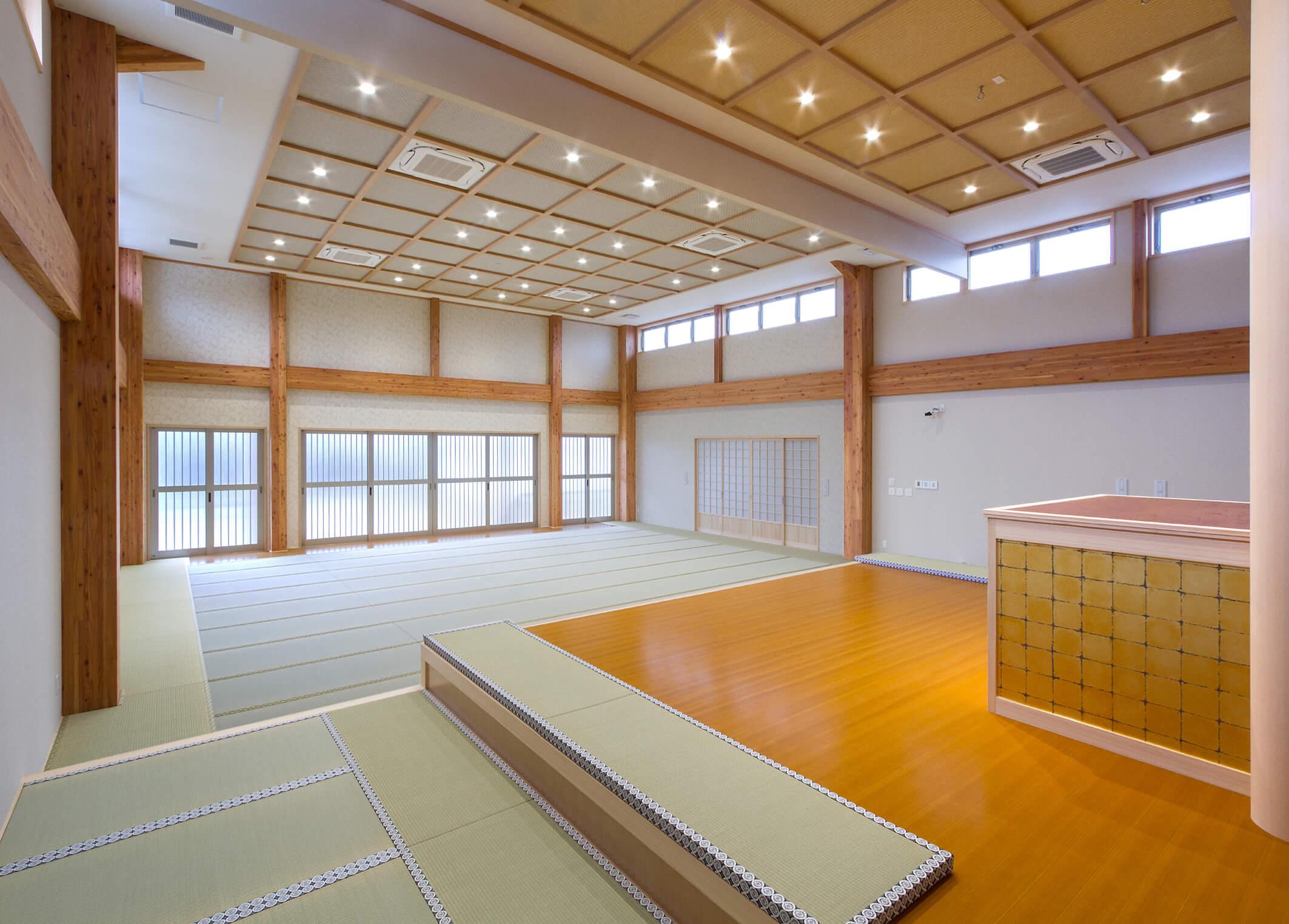 木造建築の施工事例:新顕覚寺 3枚目