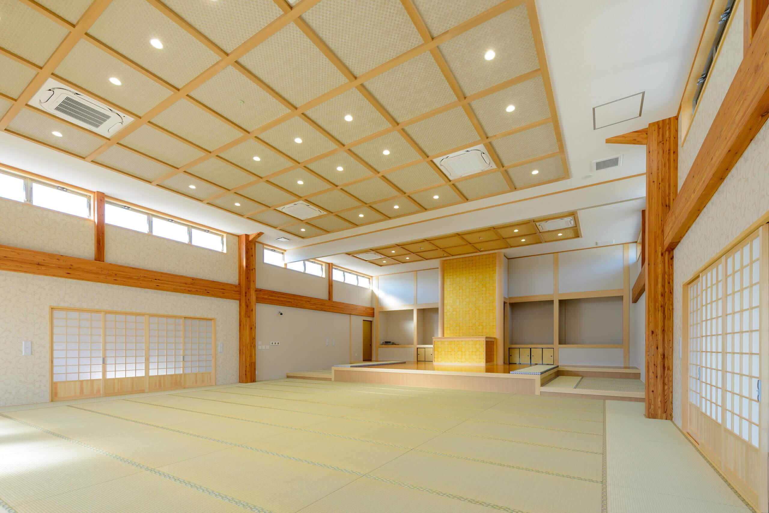 木造建築の施工事例:新顕覚寺 1枚目