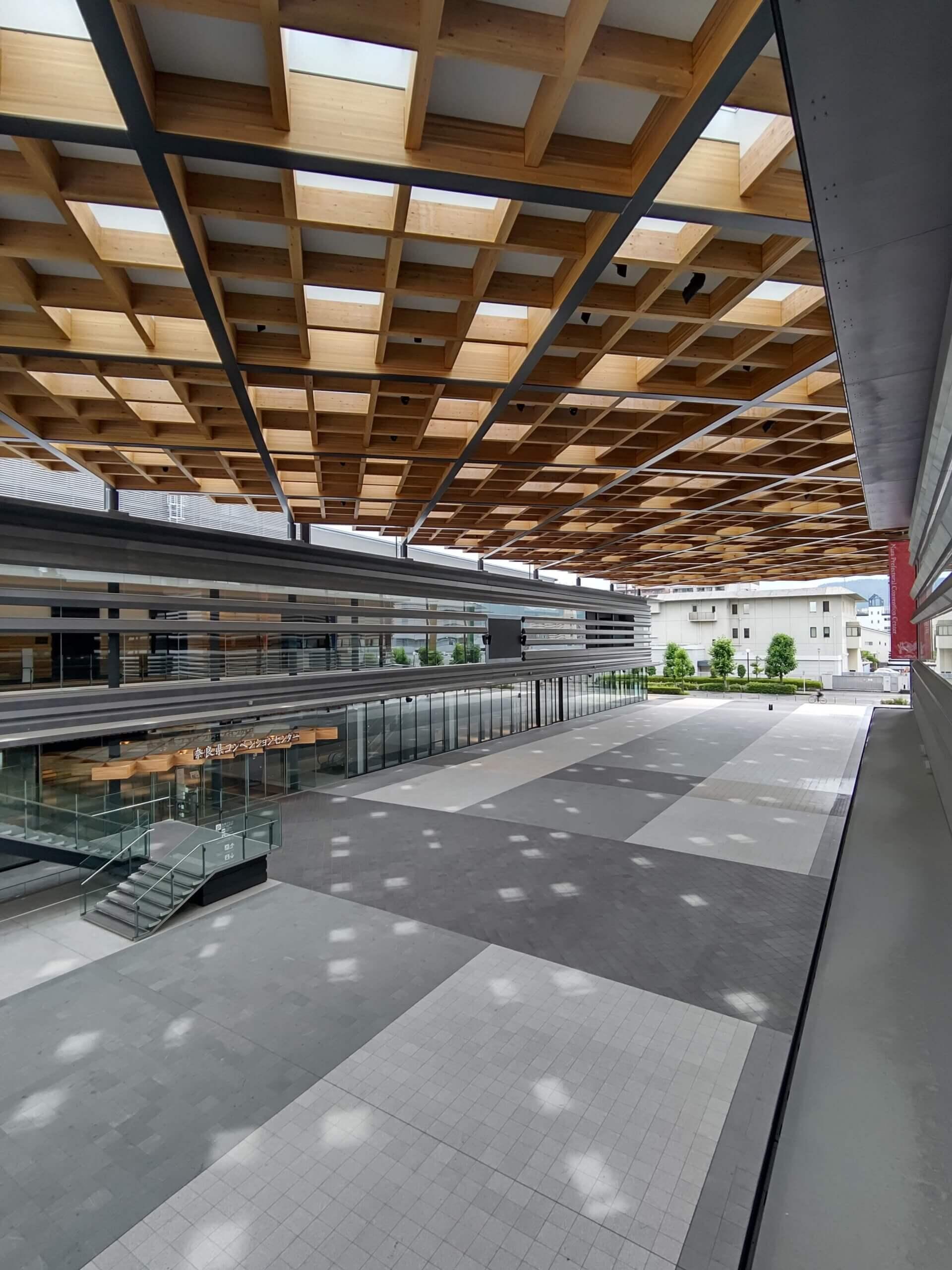 木造建築の施工事例:奈良県コンベンションセンター 5枚目