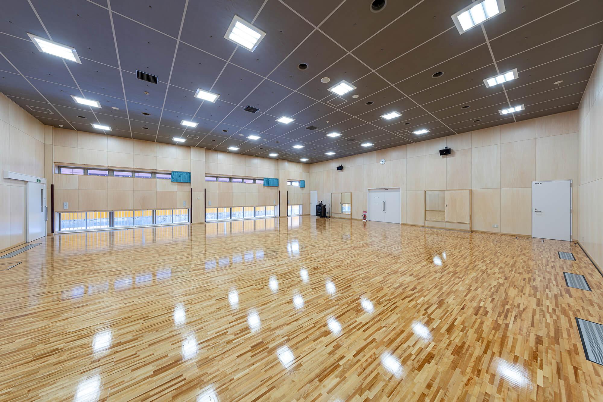 木造建築の施工事例:板柳中学校 8枚目