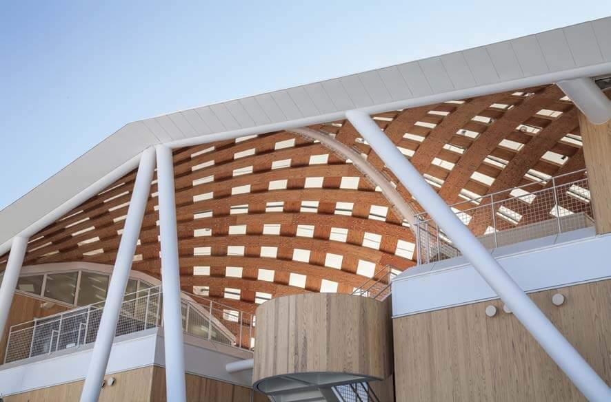 木造建築の施工事例:JR女川駅・女川町温泉温浴施設ゆぽっぽ 3枚目