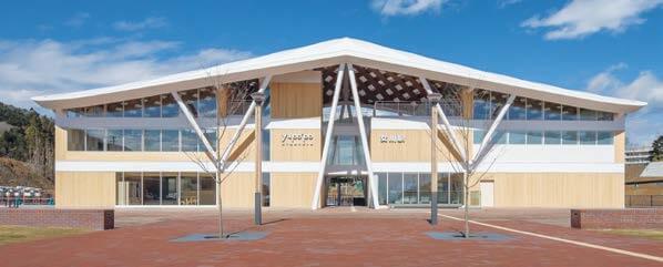 木造建築の施工事例:JR女川駅・女川町温泉温浴施設ゆぽっぽ 4枚目