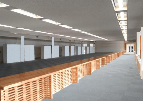 非木造のオフィスのデザイン・印象