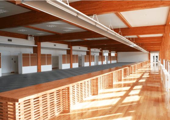 木造のオフィスのデザイン・印象