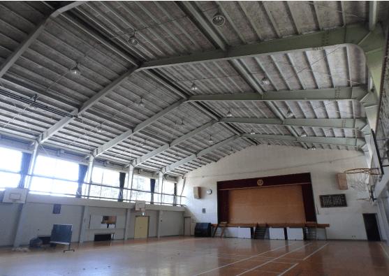 非木造の体育館のデザイン・印象